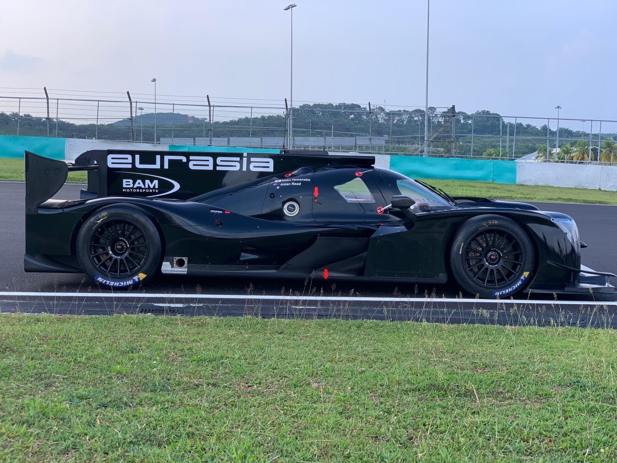 Eurasia Motorsport return to the Asian Le Mans Series
