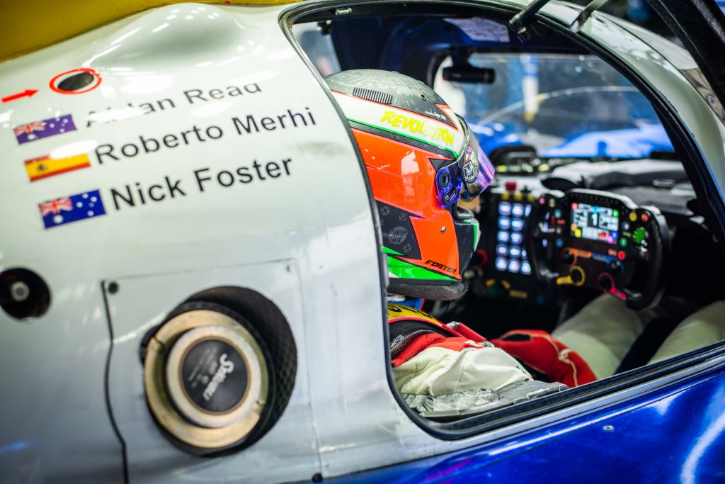 Nick Foster to compete at Spa for Eurasia